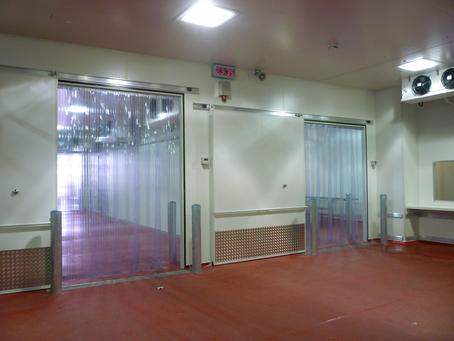 FREEZER Door Strip Curtain Kit Polar Grade